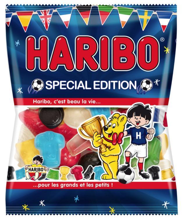 Lot de 6 paquets de bonbons Haribo Spécial Foot - 120 g
