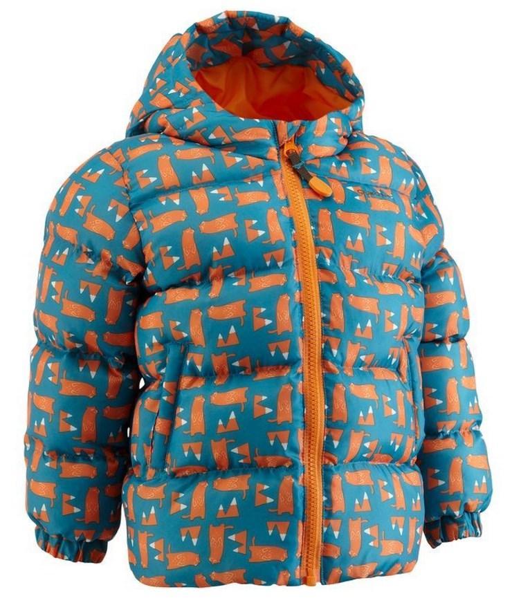 Veste pour bébé Quechua F600 ouate - Bleu