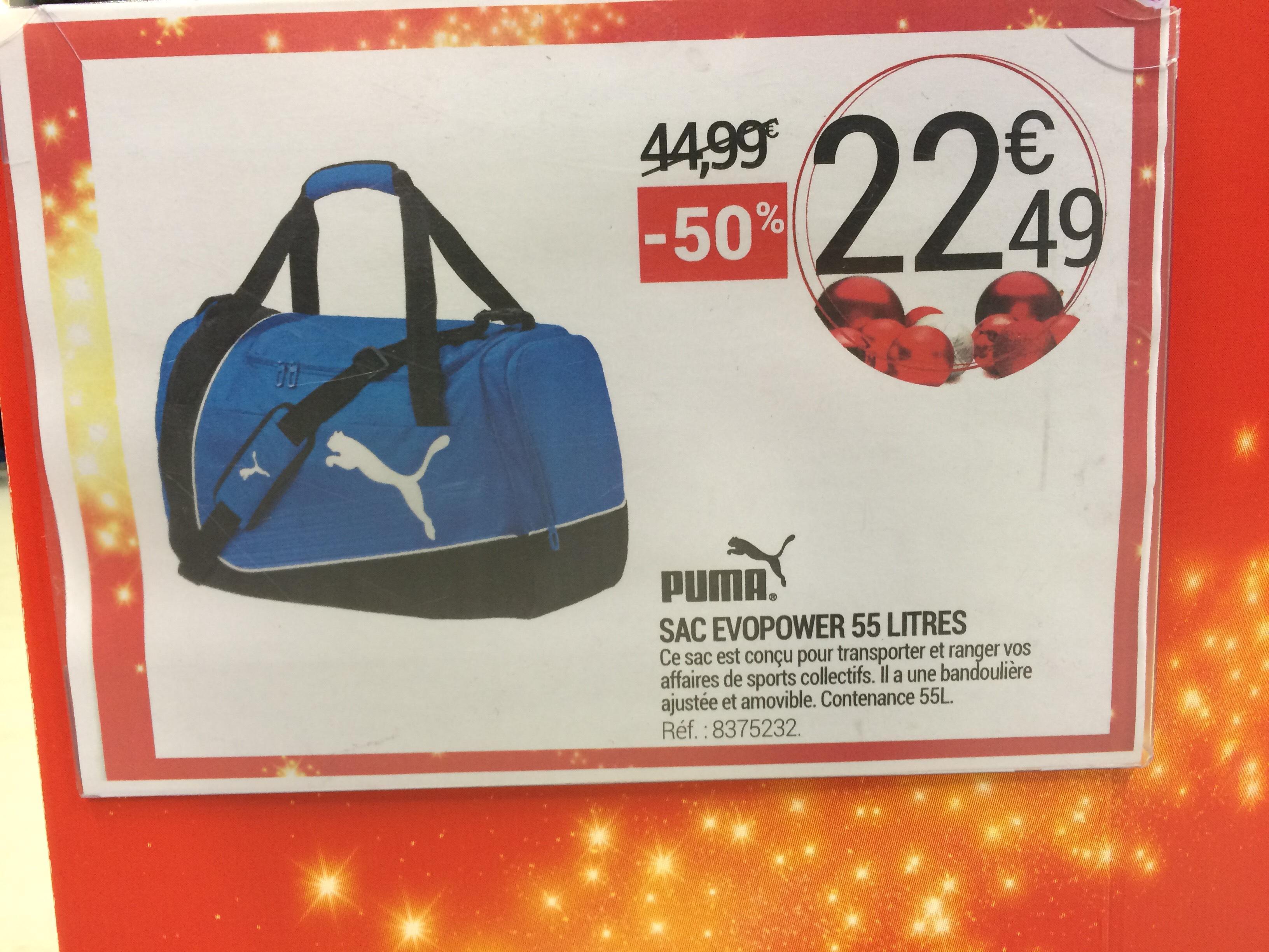 Sac de sport Puma - 55L