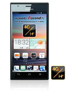 """Huawei Ascend P2 (4,7"""", IPS, Quad-Core 1,5Ghz, 16Go)"""