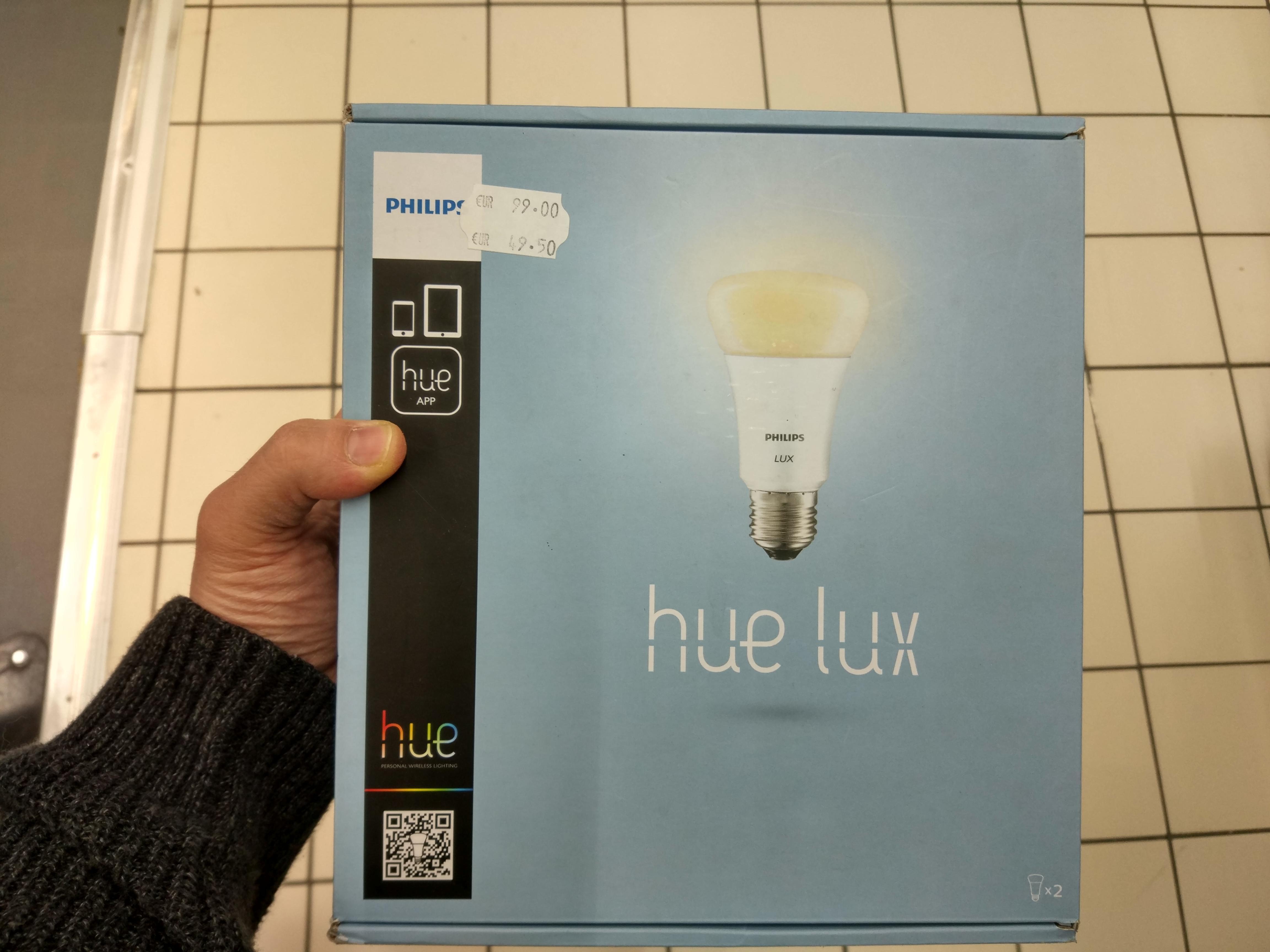 Promotion sur les articles Philips Hue - Ex: Ampoule à 14€, Kit de démarrage Philips Hue Lux