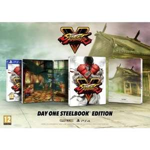 Street Fighter V - Edition steelbook sur PS4