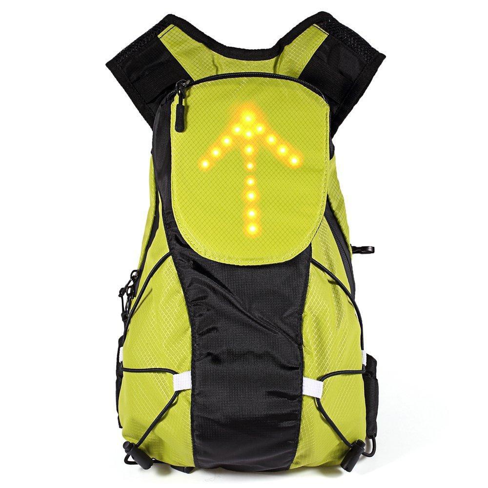 Sac à dos de vélo étanche avec LEDs