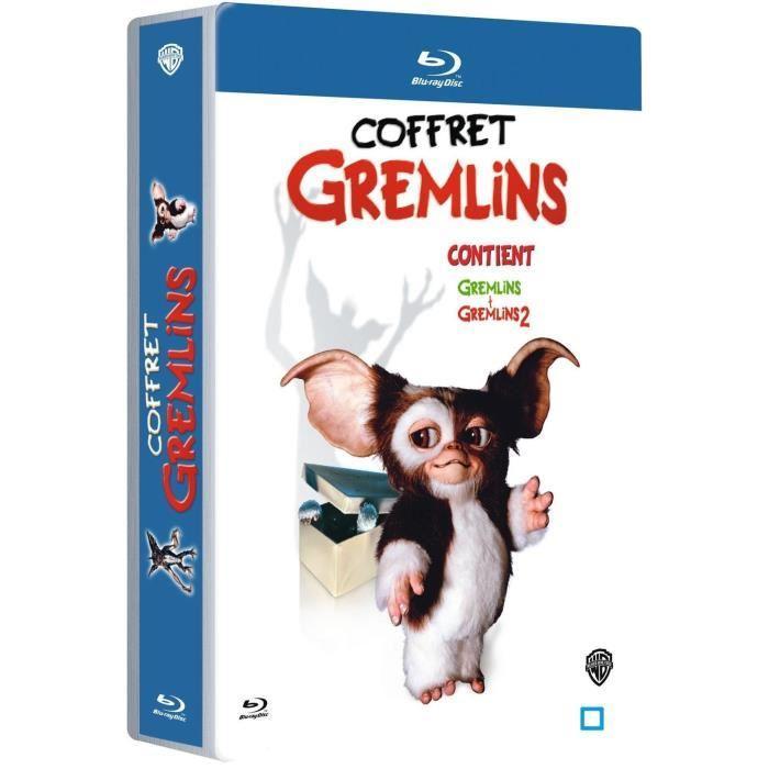 Coffret Blu-ray Gremlins + Gremlins 2: La nouvelle génération