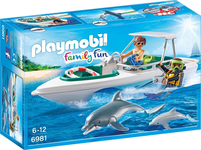 Boîte Playmobil 6981 Bateau de plongée