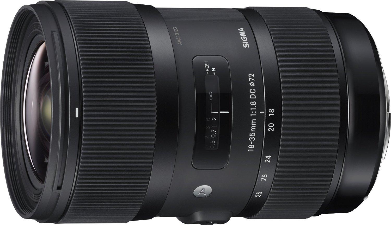 Objectif Sigma 18-35 mm F1,8 DC HSM ART - Monture Canon