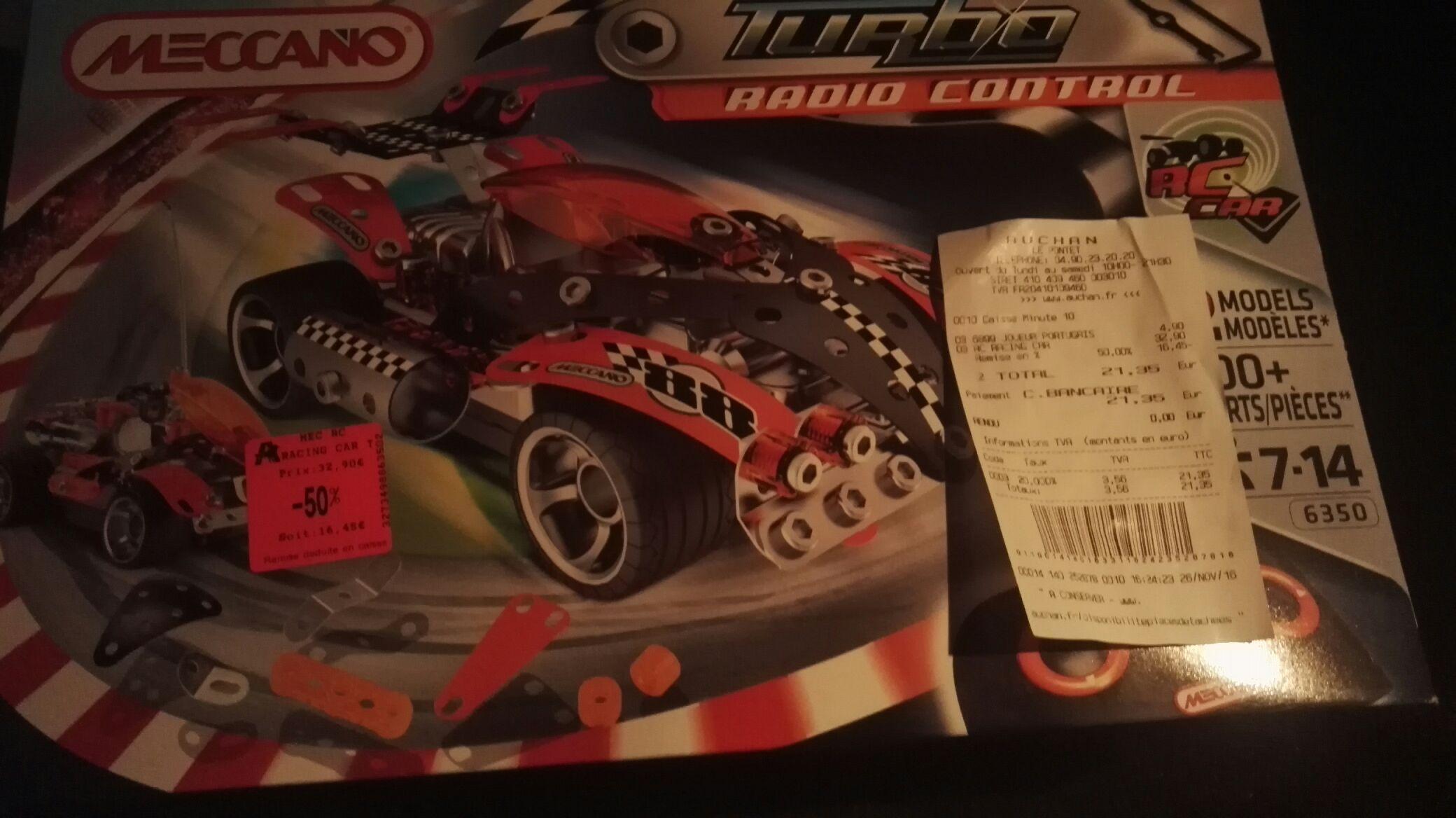 Voiture radiocommandée Meccano Turbo RC