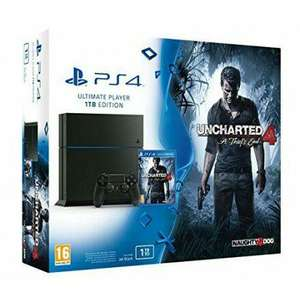 Console Sony Ps4 1 To + Uncharted 4+ Ratchet & Clank