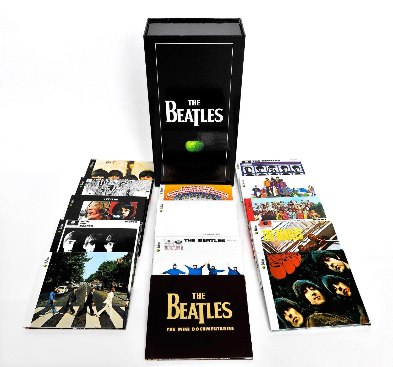 Coffret CD + DVD : The Beatles Remastered Stereo Boxset 16 CD + DVD