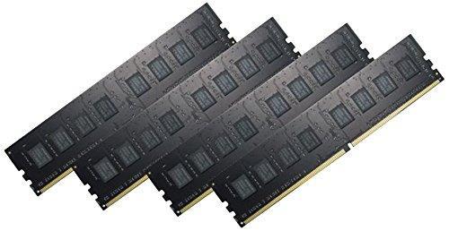 Kit mémoire DDR4 G.Skill Ripjaws 16Go (4x4Go) - 2400Mhz