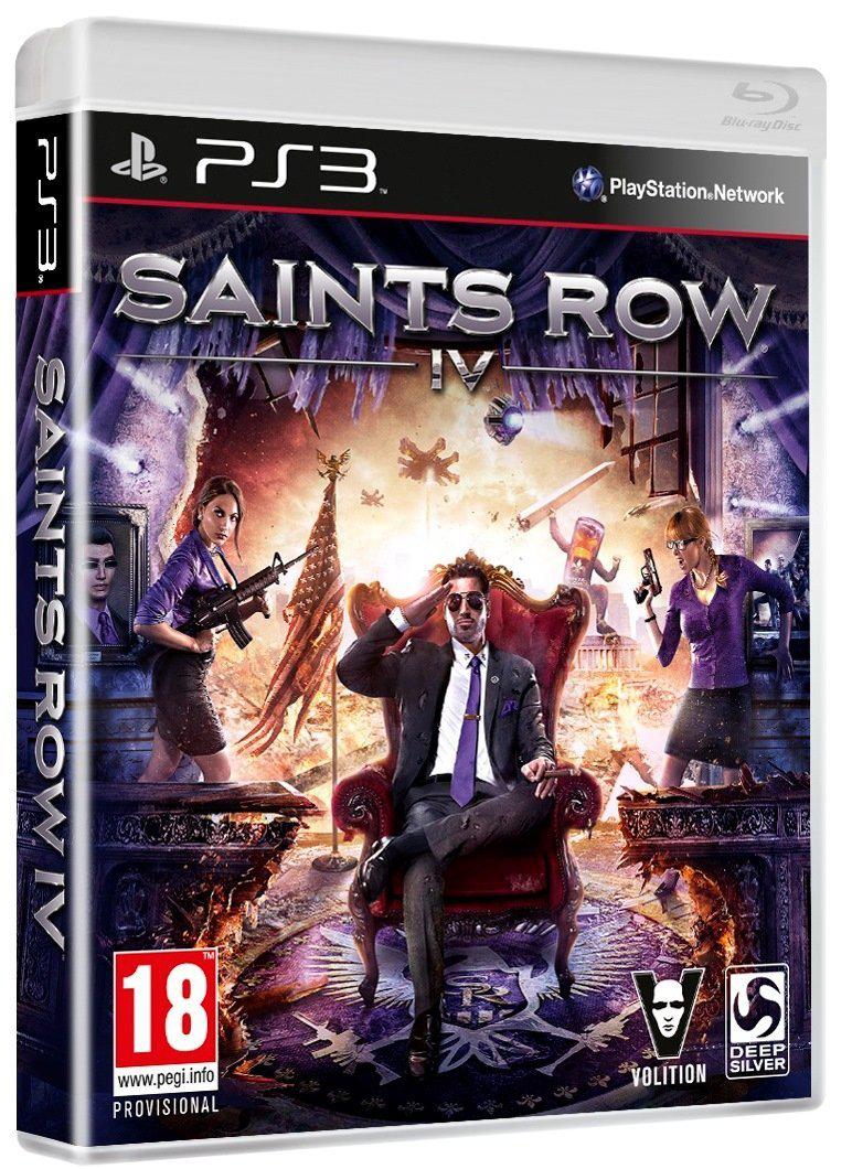 Pré-commande : Saint Row IV PS3, XBOX 360