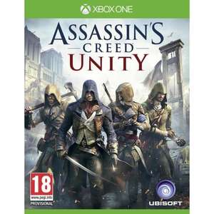 Jeu Assassin's creed Unity sur Xbox One