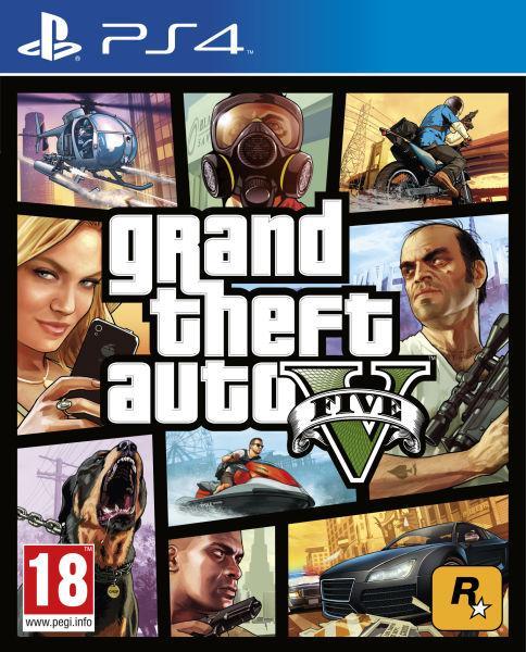Jeu GTA V sur PS4
