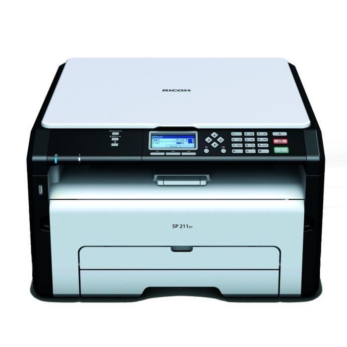 Imprimante multifonction laser monochrome Ricoh SP211 SU