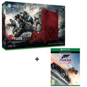 Console Xbox One S 2 To - Edition Collector + Gears of War 4 + Forza Horizon 3