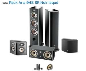 Pack Aria 948 Focal - Colonne 3 voies, 2 x Grave Flax, 1 Médium, 1 Tweeter TNF