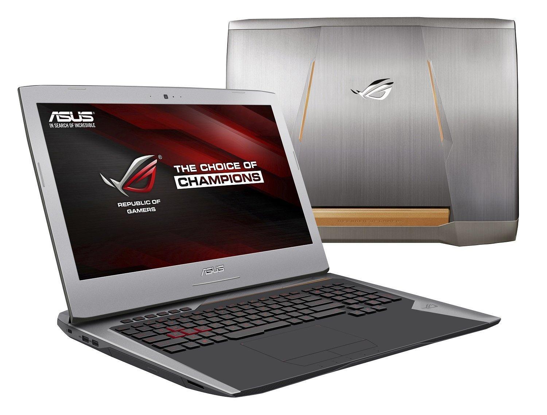 "PC portable 17""Asus ROG G752VS-BA241T - GTX 1060 6Go, RAM 8Go, HDD 1To, SSD 128Go, Windows 10"