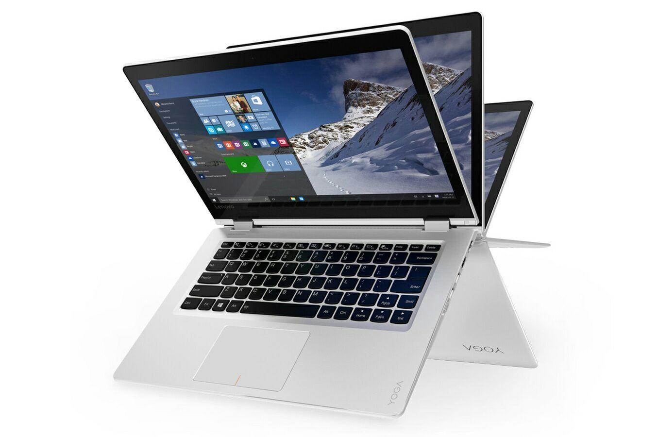"""Ultra Portable 14"""" Lenovo Yoga 510-14ISK - i5-6200U, RAM 8 Go, 256 Go SSD (via ODR de 80€) + 30€ en carte cadeau"""