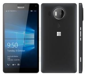 "Smartphone 5.7"" Microsoft Lumia 950 XL - Dual Sim, Noir (Dépackagé)"