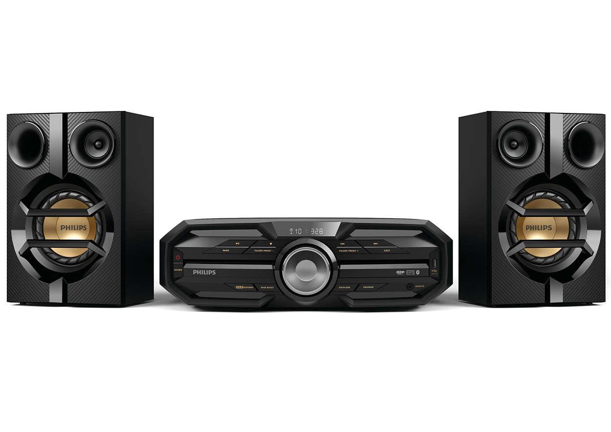 Mini-Chaîne Hi-Fi Philips Fx15 (via ODR de 30€)