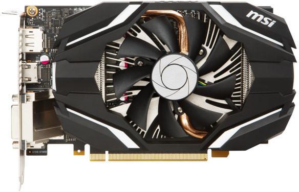 Carte graphique MSI GeForce GTX 1060 6Go OC