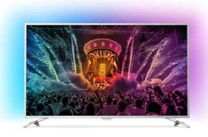 "TV 55"" Philips 55PUS6561 - 4K HDR, Ambilight 140cm (via ODR de 119.81€)"