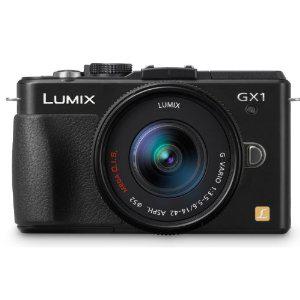 Appareil photo hybride Panasonic Lumix DMC-GX1KEF-K 16 Mpix + Objectif 14-42 mm