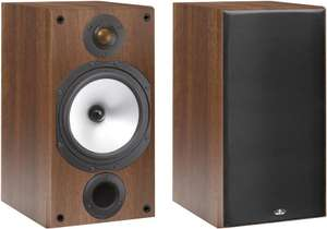"Paire d'enceintes passives ""Monitor Audio"" MR2 walnut"