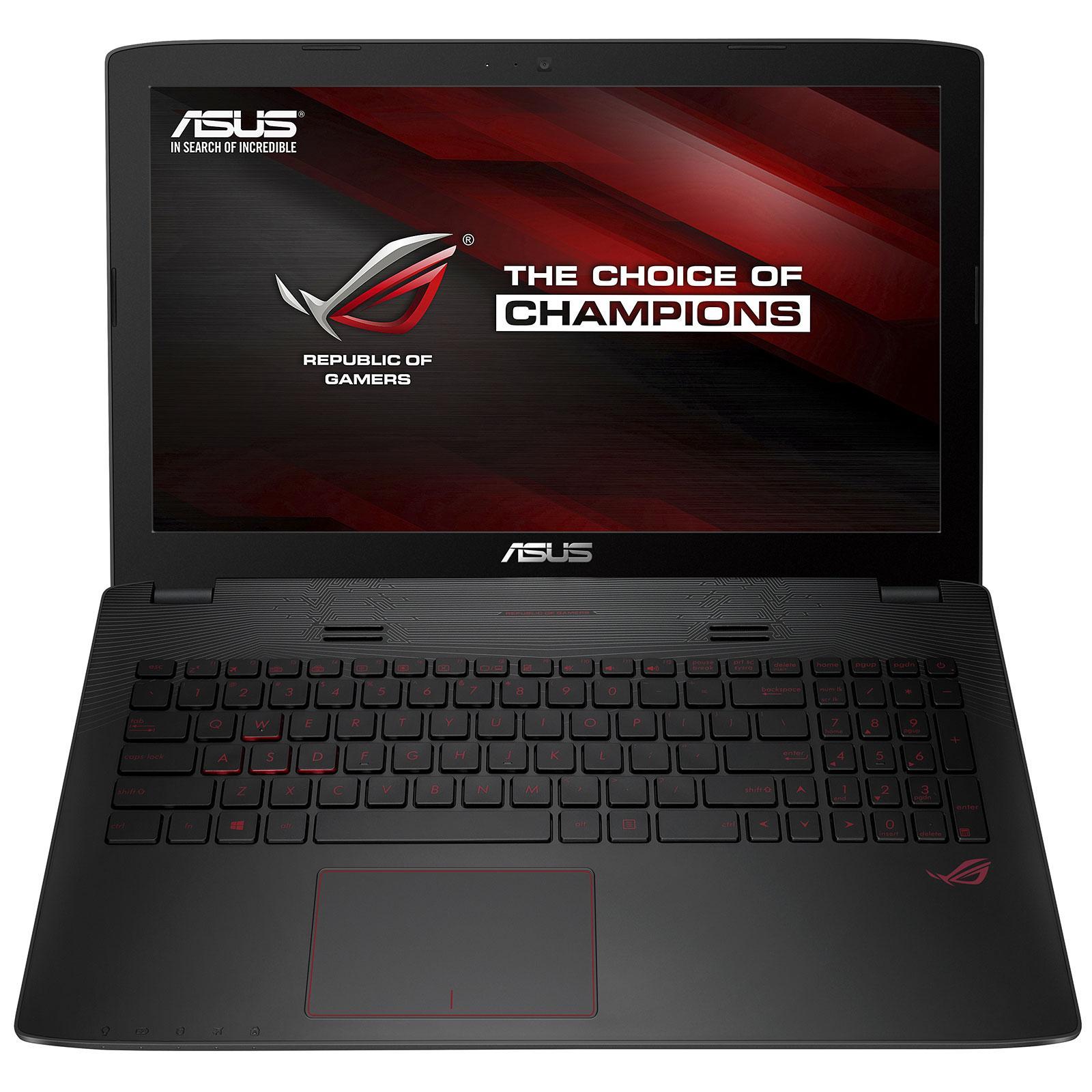 """PC Portable 15.6"""" Asus GL552VW-DM099D - Intel i5-6300HQ, 8 Go de Ram, 1 To, Geforce GTX 960M"""