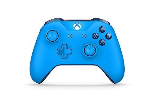 Manette Microsoft Xbox One Bleu ou Blanc version bleutooth