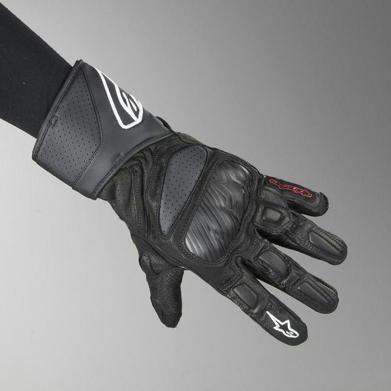Gants moto Alpinestars SP-8 - Noir