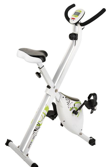 Vélo statique d'appartement pliable BH Tecnovita YF90 - Open & Go Bike