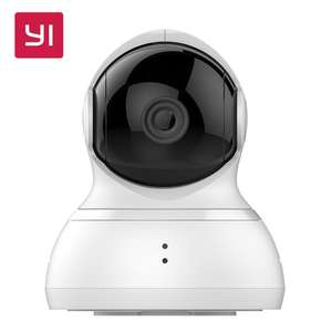 Caméra de surveillance motorisée 720p YI Dome 360 - Édition Internationale (*via l'application)