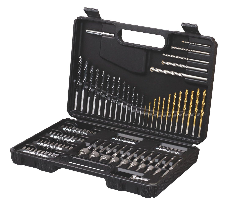Set de forets et douilles Black + Decker A7200-XJ - 109 pièces
