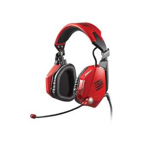 Casque Audio Gamer Mad Catz F.R.E.Q. 5 - Rouge