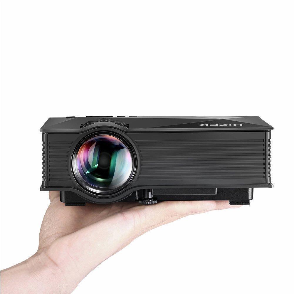 Vidéoprojecteur LED Hizek - Wi-Fi, HD, 1200 Lumens