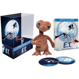 Coffret Collector E.T (Steelbook Blu-ray + DVD + Copie Digitale + Peluche 16 cm)