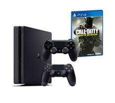 Console Ps4 Slim 1To  + Call Of Duty Infinite Warfare + 2ème Manette