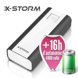 -50% sur les batteries externes X-Storm. Ex : X-PowerGo Max 4800 mAh