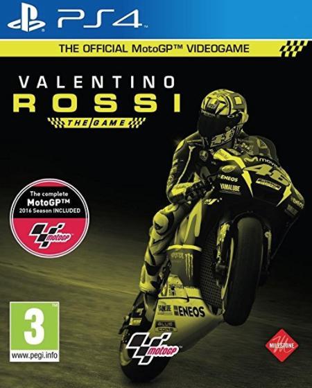 Valentino Rossi sur PS4