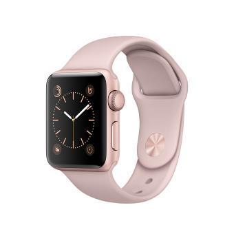 Montre connectée  Apple Watch Series 1 38 mm à 289.99€ & 42 mm Boîtier en Aluminium