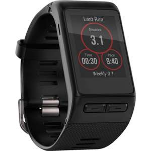 Montre GPS connectée Garmin Vivo Active HR - noir