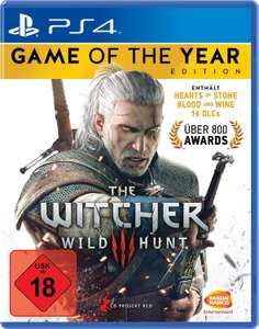 The Witcher 3 - Game of the Year Edition sur PC, PS4 et Xbox One (patch voix FR)