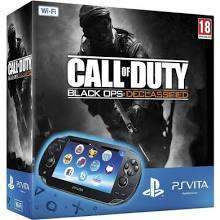 Pack Console PS Vita Call of Duty : Black OPS Declassified + Carte 4Go + Housse