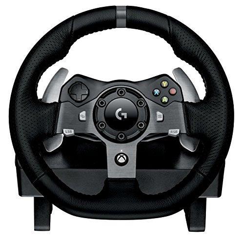 Volant pour jeux vidéo Logitech G920 Driving Force pour PC et Xbox One (avec pédalier)