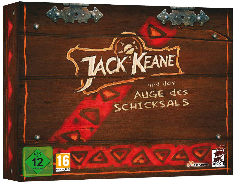 Jeu PC Jack Keane Und Das Auge Des Schicksals Edition Collector (En Allemand)
