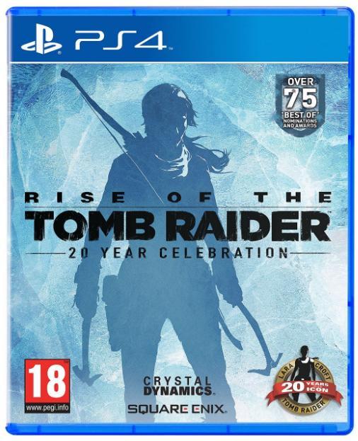 Rise of the Tomb Raider: 20 Year Celebration version avec Artbook sur PS4
