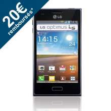 Smartphone LG Optimus L5 E610 Android 4.0 - 3G (avec ODR 20€)