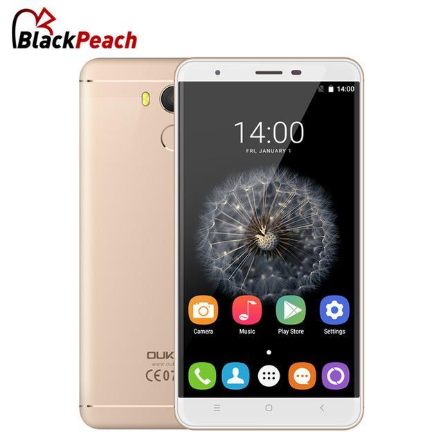 "Smartphone 5.5"" Oukitel U15 Pro - MTK6753, Android 6.0, 3 Go RAM, 32 Go ROM, Full 4G"
