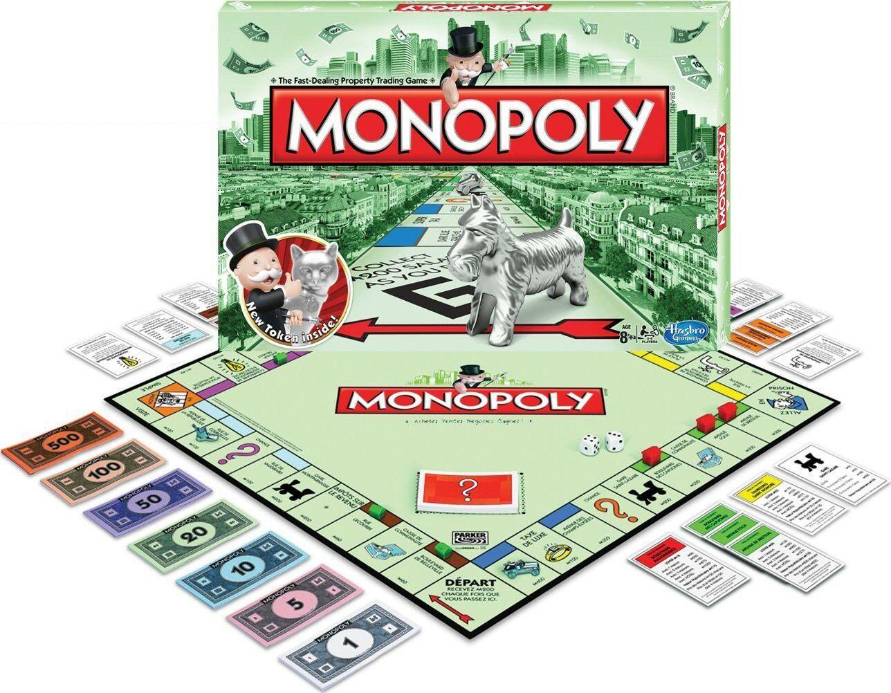 40% offerts en bon d'achat sur tout le rayon jouet - Ex : Monopoly Classique